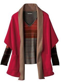 Women's Fleece Pocket Wrap   Sahalie