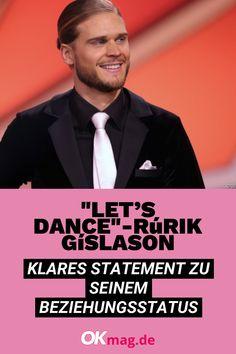 """Rúrik Gíslason tanzte sich bei """"Let's Dance"""" nicht nur in die Herzen der Jury, sondern vor allem in die der weiblichen Zuschauer. Doch wie sieht es im Privatleben des Fußballers aus? Bei """"Guten Morgen Deutschland"""" sprach er nun Klartext! #letsdance #rurikgislason #deutschestars #okmag Let's Dance, Statements, Let It Be, Movie Posters, Movies, Private Life, Real Talk, Too Busy, Dance"""