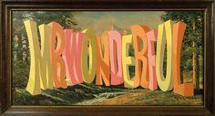 Wayne White : Word Paintings in Typography
