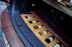 Bottle of wine for wherever the road might take you.