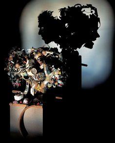 amazing, art, Inspiration, junk, light, shadow, inspiration, creative, Falling Apart