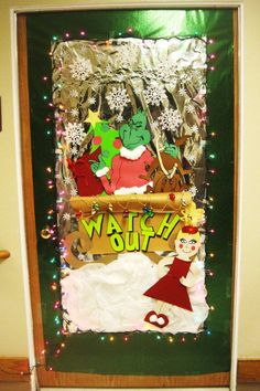 grinch stole christmas office decorations. grinch door decorating stole christmas office decorations m