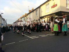 Morris dancers,  Sir Charles Napier, Hanover, Brighton
