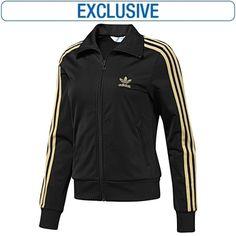 adidas Women's D S Logo Firebird - Jackets - Originals Apparel - StyleSays