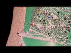 Farol De Aurora Ramos,1ª Pieza Remate Final - YouTube Hardanger Embroidery, Hand Fan, Aurora, Home Appliances, Youtube, Videos, Bobbin Lace, Lanterns, Bouquets
