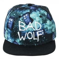 #DoctorWho Bad Wolf Snapback Hat! Best Snapback Hats Free shipping: http://www.sosocool.us.com