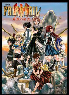 Fairy Tail The Movie: Priestess Of The Phoenix. Natsu and Gray Fairy Tail Film, Watch Fairy Tail, Art Fairy Tail, Image Fairy Tail, Fairy Tale Anime, Fairy Tales, Nalu, Fairytail, Jerza
