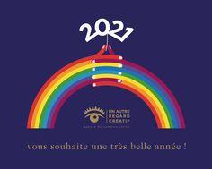 Un autre regard créatif vous présente ses meilleurs vœux ! France, Movie Posters, Advertising Agency, Happy New Year, Film Poster, Billboard, Film Posters, French