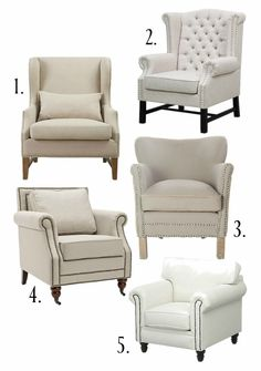 20 Neutral Arm Chairs Your Room Needs - Rooms For Rent blog