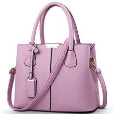 Hot Sale 2016 New Fashion Big Bag Women Shoulder Messenger Bag Ladies Handbag F403