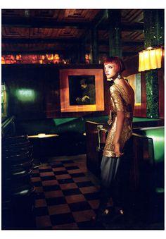 image by Mario Testino for Vogue US, September 2006 via Bonnie Tsang blog