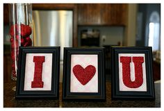 simple frames for valentines day...
