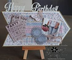 For Your Party, Craft Projects, Happy Birthday, Bingo, Holiday Decor, Dame, Cards, Action, Denim