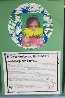 Seusstastic Classroom Inspirations: Dr. Seuss- The Lorax writing project