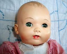 VINTAGE Rubber DOLL, Made by EFFANBEE