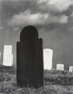 Paul Strand (American, 1890–1976), Burying Ground, Vermont, 1946 (negative) / 1960s (print), gelatin silver print, 9 5/8 × 7 1/2 inches. Philadelphia Museum of Art, The Paul Strand Retrospective Collection, 1915-1975, gift of the estate of Paul Strand, 1980-21-178. © Paul Strand Archive/Aperture Foundation