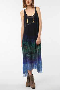 Urban Outfitters Silence & Noise Undercover Chiffon Maxi