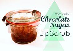eat.sleep.MAKE.: MAKE: Chocolate Sugar Lip Scrub