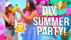DIY SUMMER PARTY: Outfit Ideas, DIY Decor & Summer Essentials! - Watermelon serving tray, fruit coasters, watermelon holder