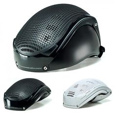 Folding helmet. Not a looker but pretty good idea for commuters. Never  going to 94e9a3fa71