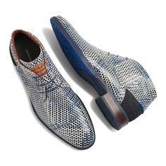 - Floris van Bommel blue and white leather men& lace boat, Men's Shoes, Shoe Boots, Dress Shoes, Shoes Men, Shoes 2017, Dress Clothes, Simple Shoes, Casual Shoes, Casual Outfits