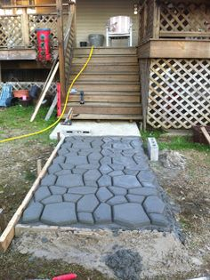 Our Life: Stone Patio