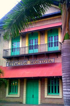 Estacion Montoya, Baranquilla, Colombia ~ late 19th century railroad station connecting to the river dock at Puerto Colombia.