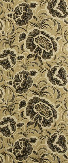 Splendour A Wallpaper Gold 211 by Catherine Martin by Mokum