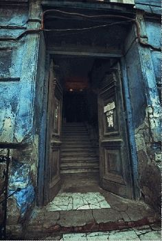 A haunted portal in New Orleans