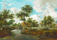 Meindert Hobbema, «The Watermills at Singraven near Denekamp»