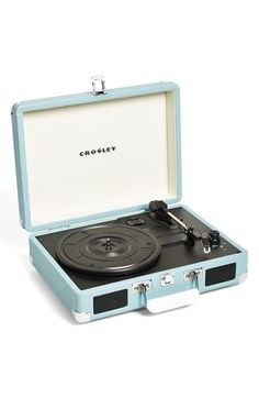 Free shipping and returns on Crosley Radio 'Cruiser' Turntable (Nordstrom Exclusive) at Nordstrom.com. A sleek, three-speed turntable emphasizes portability with a briefcase-style design, while built-in stereo speakers make it easy to enjoy and share your favorite vinyl.