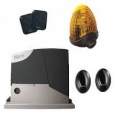 kit automatizari porti culisante Nice Road400 RD400kce cu fotocelule si lampa