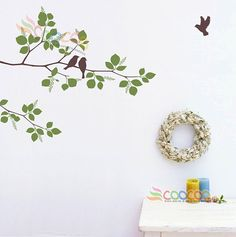 Hey, I found this really awesome Etsy listing at https://www.etsy.com/listing/109992913/wall-decal-wall-stickers-tree-wall