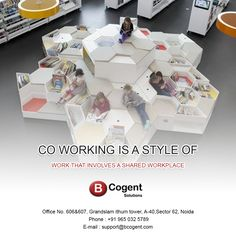 Co-working is a style of work that involves a shared workplace.................................................. #Bcogent #sharedofficespace #WorkCulture #sharedworkplace #workplace #WorkExperience #comfortworkzone #officespace #coworking #WorkSpace #sharedspace #smallbusinesses #homeoffice #remoteoffice #remotework #coworker #coworkinglife #coworkingspaceindia
