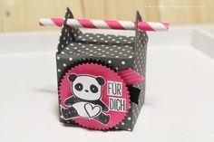 Tiny Box, Papierstrohhalm, Stampin´up, Mama Elephant, Anleitung, Video