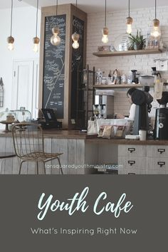 Youth Cafe is a great place to encourage relationship! Here's what's inspiring us right now to make it a cosy and welcoming space. Tansquared Youth Ministry
