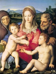 Bronzino - Holy family | by petrus.agricola