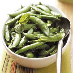 Minty Sugar Snap Peas