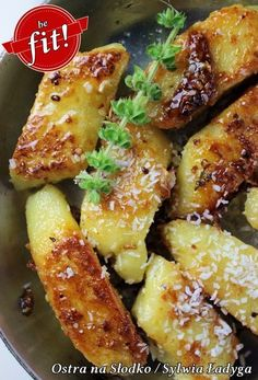 Lazy (cheese dumplings) - healthier version / the best! Healthy Meal Prep, Healthy Snacks, Diet Recipes, Vegan Recipes, Food Allergies, The Best, Sandwiches, Good Food, Food And Drink