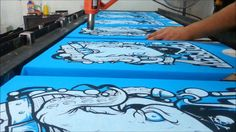 Serigrafia - Tempest Summer 2013 ·Pulpirata·, via YouTube.
