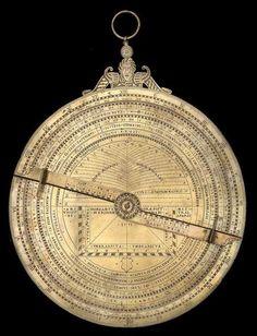 Universal Astrolabe, by Anthoine Mestrel, Paris, 1551
