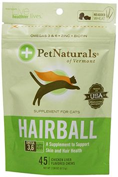 Hairball Relief for Cats 45 Chews