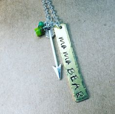 A personal favorite from my Etsy shop https://www.etsy.com/listing/513996780/mama-bear-jewelry-mama-bear-necklace