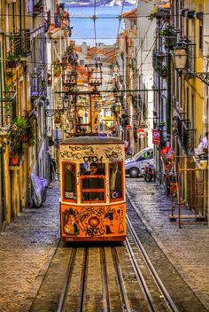 Bica, Lisbon, Portugal by António Farelo, via 500px