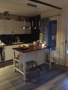 Mitt kök  Ikea Stentorpköksö  lampa lovedinner