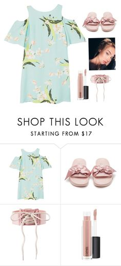 """""""@queen71304"""" by the5muslimqueens ❤ liked on Polyvore featuring MANGO, Puma and MAC Cosmetics"""