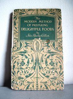 Vintage Cookbook by RushCreekVintage on Etsy, $15.00