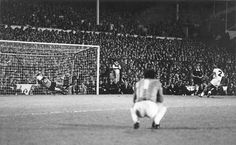 """1984 Tottenham Hotspur v Anderlecht 2-2 agg (4-3 after penalties) Spurs Captain Graham Roberts scored the first penalty and Morten Olsen's strike was saved by Tony Parkes. The next six were converted until Spurs defender Danny Thomas had his potentially winning spot-kick saved. Clearly distraught, he trudged back to the halfway line to supporters' deafening chorus of """"there's only one Danny Thomas!"""" before Parkes saved Arnór Gudjohnsen's effort to win the trophy"""