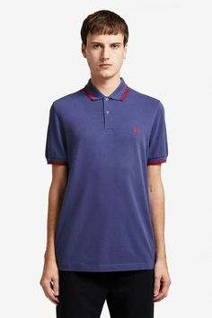 Buy Fred Perry Twin Tipped Poloshirt from the Next UK online shop Celebrity Closets, Celebrity Style, Punk Shop, Fred Perry Polo Shirts, Twin Tips, Tennis Fashion, Clothes For Sale, Nike Clothes, Nike Outfits
