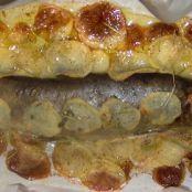 Trota al forno con patate - Tappa 4